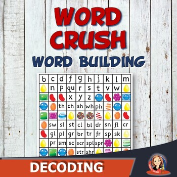 Word Crush - Word Building Phonics with Word Families