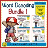 Word Decoding Bundle 1: Short Vowels, Digraphs, Blends & Silent or Magic e