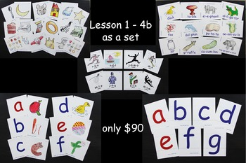Word Decoding Lessons 1-4b