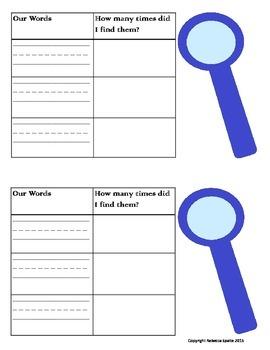 Word Detective Activity