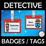Word Detective Badge