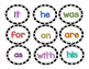 Word Detective Clip & Find Literacy Center (Fry's First Hundred Words)
