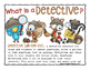 Word Detective Clip & Find Literacy Center (Fry's First Hu