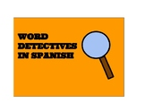 Word Detective Missions in Spanish