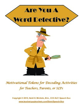 Word Detectives: Motivational Tokens for Decoding Activities