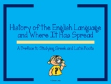 History of English Word Origins - Preface to Studying Gree