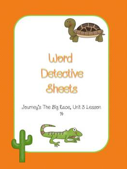 Word Detective Sheets
