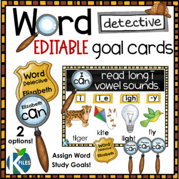 Word Detective Phonics and Reading Strategies Posters