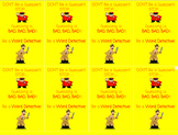 Word Detective Syllable Division Bookmark Reminder
