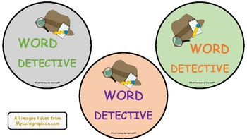 Word Detective Tags
