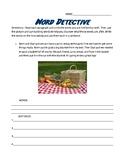 Word Detective Word Analysis Worksheet