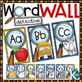 Word Detective Word Wall