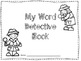 Word Detective Work Station Activity