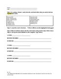 Word Detective Worksheet for Lyddie