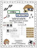 Word Detectives (for Reading Street 1st Grade Unit 1, Wk 2)