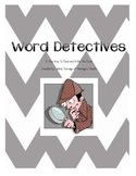 Word Detectives: A Tiny Way to Read and Write the Room