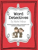 Word Detectives: A context clues game!