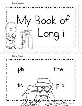 Word Detective ~ Long I Vowel Activities