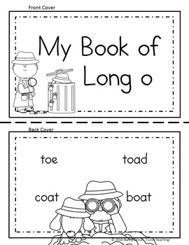 Word Detective ~ Long O Vowel Activities