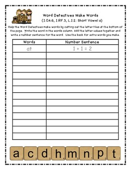 Word Detectives Make and Add Words - A Systematic Sequential Integrated Activity