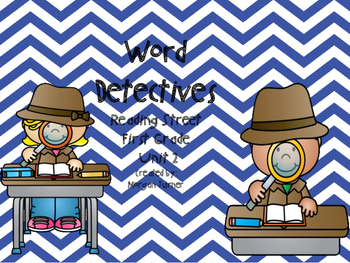 Word Detectives Unit 2