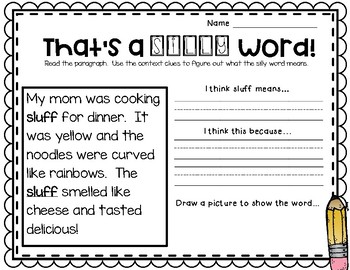 Word Detectives - Using Context Clues
