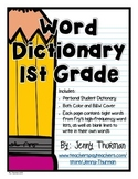 Word Dictionary 1st Grade