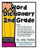 Word Dictionary 2nd Grade