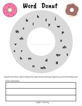 donut template teaching resources teachers pay teachers