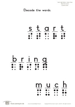 Word Dot Code (3rd Grade)