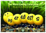 Word Ending Caterpillar