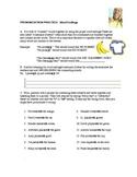 Word Ending Worksheet