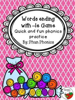 Word Ending with -le Game