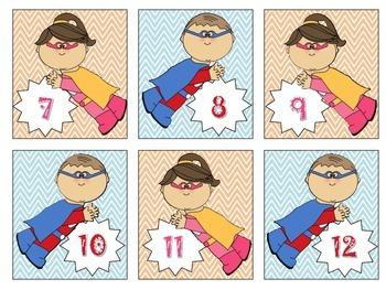 Superhero Labels