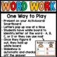 Word Endings (are, ere, ire, ore, ure)
