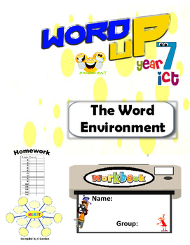 Word Environment FULL Student Workbook Year 6, Grade 6, Year 7, Grade 7,