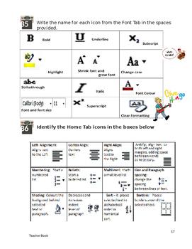 Word Environment Teacher Workbook Solutions Year 6, Grade 6, Year 7, Grade 7,