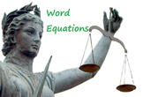 Chemistry: Word Equations