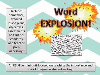 Word Explosion Mini-Unit 2-Day Lesson Plan with Rubric