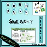 Word-Fall - Similarity - Digital Activity