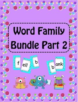 Word Families Part 2