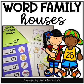 Short Vowel Word Families {Printables}