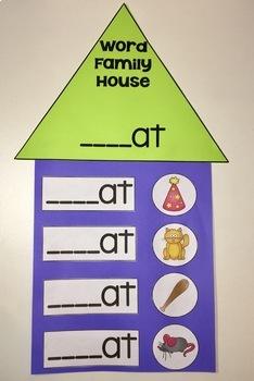 Short Vowel Word Families {Printables}