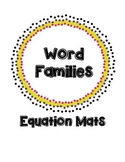 Word Families: Equation Mats
