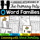 CVC Word Families Worksheets, Centers, Guided Reading Short O Bundle
