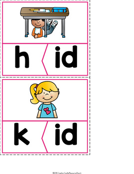Short I Word Families Worksheets, Books, and Activities