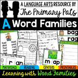 Short A Word Families Worksheets, Books, and Activities Bundle