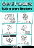 Word Family and Sight Words Build a Word Reader | CVC Words