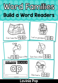 Word Family and Sight Words Build a Word Reader