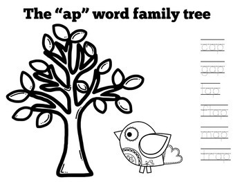 Word Family Activity | Word Families Craft Activity